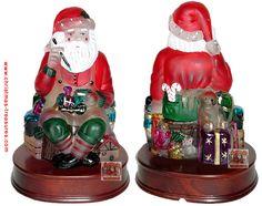 Old World Christmas Santa Toymaker Night Light (1995)