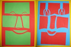 Kunstunterricht 2014 / 2015 Neon Signs, Juni, November, Art Education Resources, First Grade, Bricolage, Drawing S, Masks, November Born