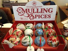 Whether you're looking for a stocking stuffer or a gift. This ornament filled with mulling spices is sure to satisfy! #gifts #ornaments #mullingspices