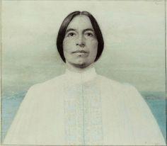 Karl Mediz, Artist's daughter Gertrude