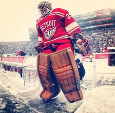 Jimmy Howard from the Winter Classic