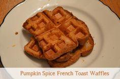 Pumpkin Spice French Toast Waffles