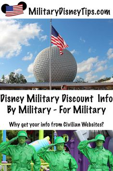 Are you looking for info on Military Discounts for Walt Disney World? This is the internet's premier site for Disney Military Discounts! We also have info on Shades of Green Resort, SeaWorld, Universal Studios, LEGOLAND, and Busch Gardens Disney Theme Park Tickets, Discount Disney Tickets, Disney World Tickets, Walt Disney World Vacations, Family Vacations, Disney Parks, Authorized Disney Vacation Planner, Disney Vacation Planning, Disney World Planning