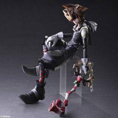 Kingdom Hearts 2 - Sora - Halloween Town Vers - Play Arts Kai - - Actionfiguren / figmas - Japanshrine | Anime Manga Comic PVC Figur Statue