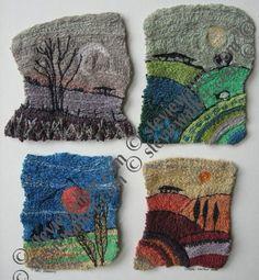 machine embroidery | stevie walker - Four Seasons