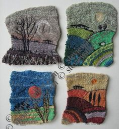 machine embroidery | stevie walker - Four Seasons