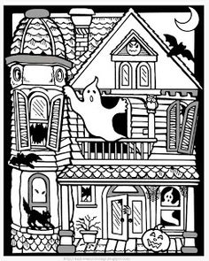 HALLOWEEN COLORINGS: WELCOME TO HALLOWEEN COLORINGS