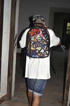 """#bonne backpack """"Graff"""" stamp, #bags #backpack #streetwear #tags"""