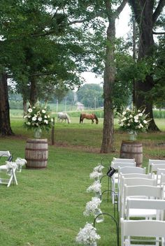 Love the barrels Rustic Country Wedding Ideas | Rustic/Country wedding idea