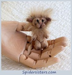 Roary itty bitty lion Original Spiders Sisters design  for sale now on ebay item # 151128179268 Please stop by and see what else we have listed. :)