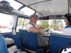 Shuttle mit Oldtimer-Bussen ...