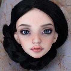 Monster High Custom, Doll Eyes, Monster High Dolls, Bjd, Art Dolls, Face, The Face, Faces, Monster High Repaint