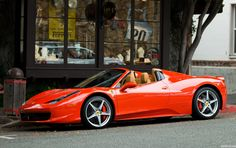 Ferrari 458 Spider | Flickr - Photo Sharing!