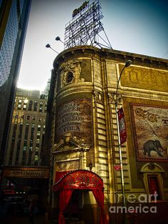 Booth Theatre - photograph by James Aiken james-aiken.artistwebsites.com #jamesaiken #broadway #newyorkcity