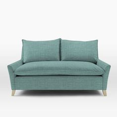 Bliss Down-Filled Loveseat | west elm
