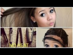 How To Straighten Hair Without Heat | How To Instructions