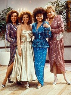Love Designing women...Julia to Suzanne - If sex was fast food there would be an arch over your bed...lol