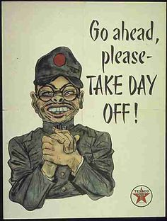 WWII poster encouraging workers to be diligent