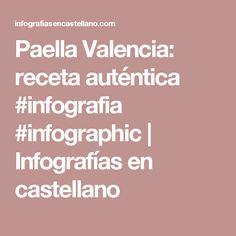 Paella Valencia: receta auténtica #infografia #infographic   Infografías en castellano Paella, Valencia, Psychology, Math Equations, Idea Lab, Buffets, Generation Z, Personality Types, Recipes
