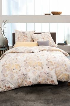 Estella pościel mako-jersey Darina lachs 6492 155x200 - Dommania.pl Comforters, Blanket, Bed, Home, Salmon, Creature Comforts, Quilts, Stream Bed, Ad Home