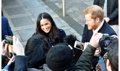 All the photos from Prince Harry and Meghan Markle's first joint engagement