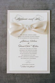 Tied with a bow: http://www.stylemepretty.com/california-weddings/san-francisco/2015/09/09/classically-elegant-san-francisco-city-hall-wedding/ | Photography: Josh Gruetzmacher - http://www.joshgruetzmacher.com/