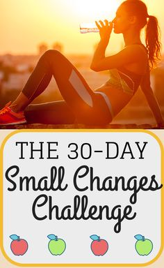 Join the 30-Day Small Changes Challenge!