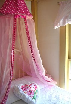 Kids Tent Canopy Play Tent Canopy Bed by ScarlettsCozyCottage