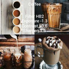 Photo Editing Vsco, Photography Editing, Lightroom, Vsco Effects, Vsco Feed, Vsco Themes, Vsco Pictures, Coffee Theme, Coffee Instagram