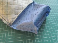 How to sew a pretty comsetic-bag boro style