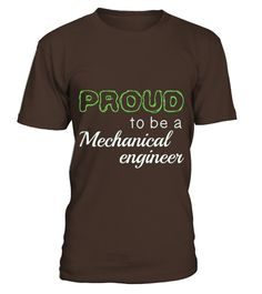 Mechanical Engineer Proud To Be Job Title T-shirt