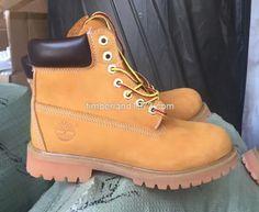 New Fashion Timberland Kid's 6-Inch Premium Waterproof Boots Wheat $65