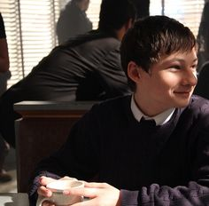 Jared Gilmore - Behind the scenes ... Little Henry is growing up so fast! :)