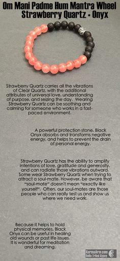 Some wear Strawberry Quartz when trying to attract a soul-mate. #love #spiritual…