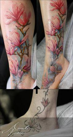 Magnolia color cover up by xandervoron on DeviantArt