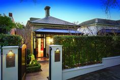 Melbourne& beloved terrace houses look compact outside, but open the front door and there& a world of possibility.