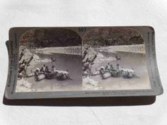 Original Stereoview Photo Card c.1900s Inflated by GalleryLF, $12.50