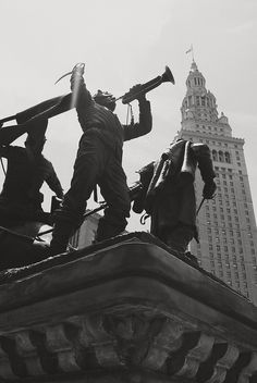 soldiers and sailors monument...downtown cleveland