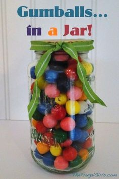 Gumballs in a Jar!