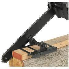 """Résultat de recherche d'images pour """"how to make a chainsaw mill"""""""