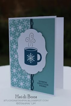 Stuck on Stampin': open house make n takes