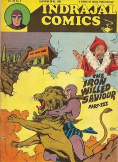 Indrajal Comics, Phantom Comics, Indian Comics, Comic Covers, Book Covers, Times Of India, Comic Strips, Nostalgia, Comic Books