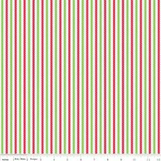Riley Blake - Home For The Holidays Stripe Multi