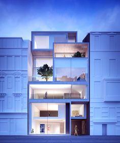 DOMUS AUREA | Vlaanderenstraat, Gent | Govaert&Vanhoutte #minimalisme #absbouwteam #absoluutarchitectuur #render