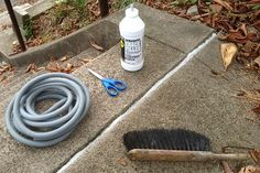 Repairing Cracks in Concrete: 7 Minutes is All You Need :: Hometalk