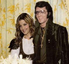 LISA MARIE & ELVIS...I know she was young when he died..