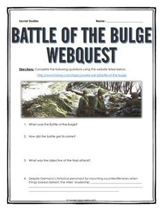 Battle of the bulge research paper