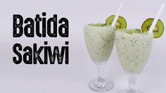 Aprenda a fazer essa maravilhosa batida de kiwi com Saquê. Receita completa no site.