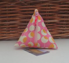 Pyramid Make Up Bag by APPLEBLOOMCRAFTS on Etsy, £6.00
