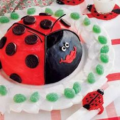 Buggy Gal Birthday Cake Recipe